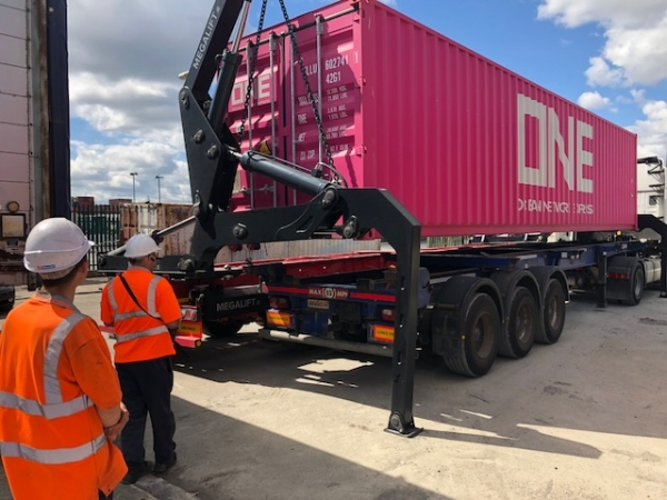 Container Side Loader Training